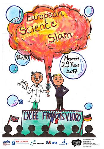 european science slam französische Schule Frankfurt