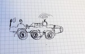 Le robot imaginé par Clément