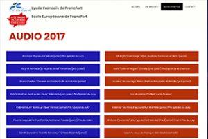 Réécouter les candidats à ZeVoiss 2017