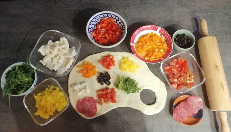 Orane 6e palette comestible