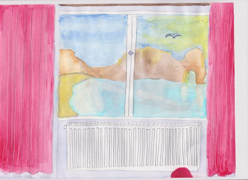 Paul 4e fenêtre réelle