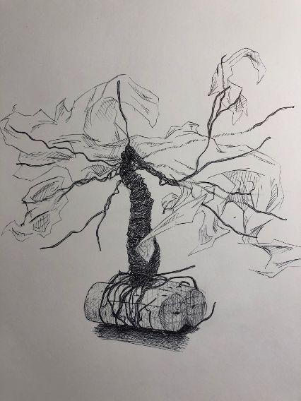clément 1ere dessin sculpture